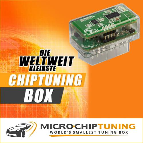 Abarth Chiptuning - OBD II Tuningbox für Abarth Benzinmotoren